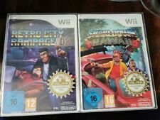 Shakedown Hawaii Retro City Rampage Nintendo Wii VBlank Exclusive