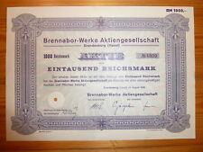 D: RAD / MOTORRAD / AUTO: Brennabor-Werke, Brandenburg, 1938, 1000 RM,