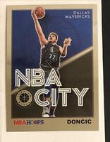 2019-20 NBA Hoops Premium Stock NBA City Luka Doncic - 2nd Year In NBA!! 🔥