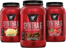 BSN Syntha-6 Protein Whey Powder - Chocolate Flavor 3 pounds