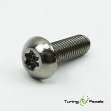 1x Titanschraube M5 x 18 mm, Torx, ISO 7380, Gr5, Linsenkopf