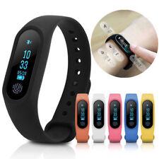 "M2 0.96"" OLED Smartwatch Fitness Armband Bluetooth Sportuhr Sport Tracker IP67"
