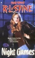 Night Games (Fear Street Series #40) R. L. Stine Mass Market Paperback