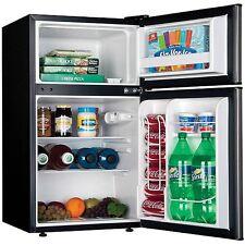 Compact 3.2 cu ft Refrigerator Mini Freezer 2 Door College Dorm Home Office NEW