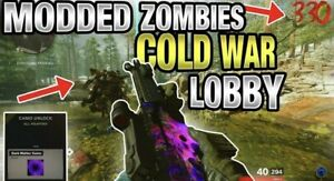 CALL OF DUTY COLD WAR MODDED ZOMBIES LOBBY! BEST AROUND