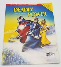 Deadly Power Role Aid #716 Module RPG Dungeons Dragons AD&D