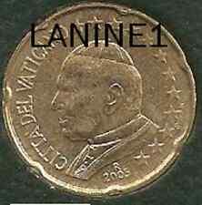 20 CENT DU COFFRET BU VATICAN 2005 (RARE)