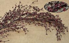 Burgundy Pip Berry 4 foot long Garland