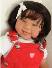 """Reborn Toddler Girl Doll Katie """"Down Syndrome Tribute"""""""