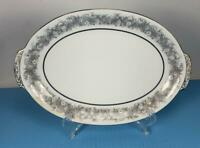 Medium Vintage SANGO PLATTER Florentine Made in JAPAN 12.5 x 8.5 Porcelain OVAL