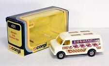 Corgi Toys 431, Vanatic U.S. Custom Van, Mint in Box                     #ab1459