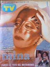 TV Sorrisi e Canzoni n°44 1993 Mina Susanna Messaggio Heather Parisi [D38]