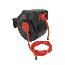 """D Pro Tools 65ft 20m Auto Retractable Air Line Hose 3/8"""" 18 Bar Compressor  Reel"""