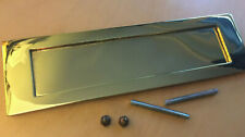 Carlisle Brass Stainless Brass PVD Letter Plate 257mm x 80mm