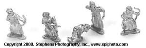 Old Glory Crusaders & Saracens 25mm First Crusade - Sudanese Archers Pack New