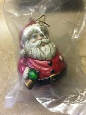 Vintage Midwest Importers Of Cannon Falls Santa Christmas Tree Ornament