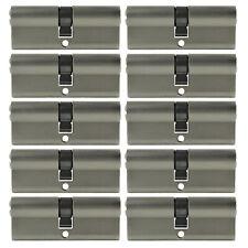 2- 10x Profile Cylinder 3 5/32in 40/40 Door Cylinder Lock Keyed Alike