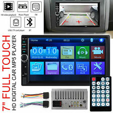 7'' Double Car Radio Stereo MP5/MP3 Player 2 Din Bluetooth FM AUX USB Head Units
