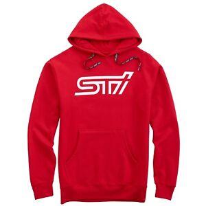 Subaru Sti Hooded Hoodie Sweatshirt Sti Official Genuine WRX NEW Racing JDM New