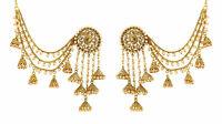 Indian 22k Gold Bahubali Vintage Wedding Fashion Ethnic Bollywood Jhumka Earring