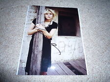 Courtney love signed autógrafo en persona 20x25cm Nirvana Hole Kurt Cobain