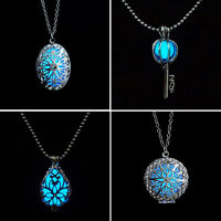 Wonderful Fairy Round Magic Locket Glow In The Dark Pendant Necklace Hot Gift