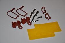 2 x Kavalleriesattel mit Decke gelb, Halfter und Zügel neue Version