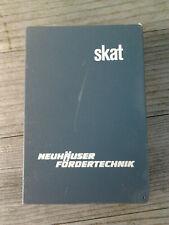 Werbeartikel  -  Kartenspiel   -  Skat  -  32 Blatt  -  Neuhäuser Fördertechnik