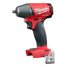 "Milwaukee 2754-20 M18 FUEL 3/8"" Drive Compact Impact Gun Wrench Kit w/ Belt Clip"