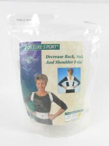 The Saunders Group Posture Support Brace Size Large Decrease Back Neck Pain