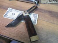 """Vintage No 25 Stanley- 8"""" inch Sliding T Bevel Square TOOLS WOOD & BRASS USA"""