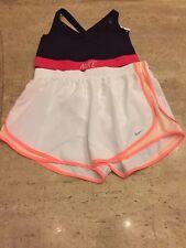 Nike Women Sports Bra And Shorts Size X Large