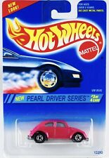 1995 Hot Wheels VW Bug Pink 7 Spoke Rims #293 PEARL DRIVER  SERIES 3 of 4 NIP