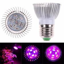 E27 10W Led Grow Light Veg Flower Indoor Plant Hydroponics Full Spectrum Lamp rd