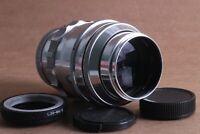 TAIR 11 2.8/135 KMZ M39 Lens Silver Russian + M39 – Micro 4/3 adapter