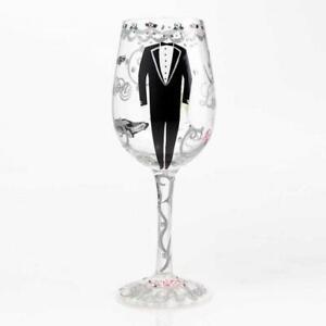 Groom Wine Glass by Lolita®