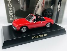 Kyosho 1/64 Porsche 914 Red Diecast Car