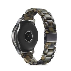 Resin Watch Band Wrist Strap For Samsung Galaxy Watch 3 41MM Active 2 40 42 44mm