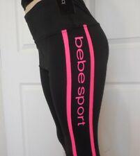 BEBE Sport Womens Black Leggings Capri Size Large