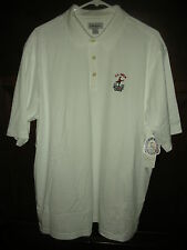 NEW MEN'S HAGEN U.S. OPEN 2009 GOLF SHIRT SIZE EXTRA LARGE (XL) , WHITE, $45