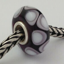 Authentic Trollbeads Ooak Universal Unique (100) Glass Bead Charm Fits All