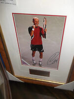 NIKOLAY DAVYDENKO HAND SIGNED TENNIS PHOTOGRAPH FRAMED + PHOTO PROOF &  C.O.A