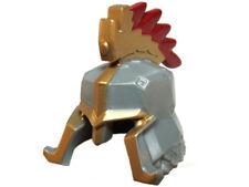LEGO - Minifig, Headgear Helmet w/ Cheek & Nose Protection, Gold Trim & Crest