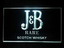J605W J & B Scotch Whisky For Pub Bar Display Decor Light Sign