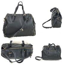 URBAN EXPRESSIONS Black Hobo Satchel Festival Handbag Convertible Crossbody