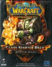 WOW WORLD OF WARCRAFT Class Starter Deck - Undead Mage HORDE NEW SEALED ENG