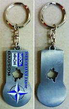 """Portachiavi Missione """"K-FOR KOSOVO - JOINT ENTERPRISE 2004"""" - (Originale)"""