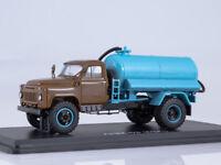 scale model 1:43 GAZ-53A sewage Machine ANM-53