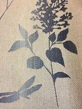 LAURA ASHLEY DRAGONFLY OMBRÉ CHALK BLUE CURTAIN fabric 1metre x 137cm width NEW
