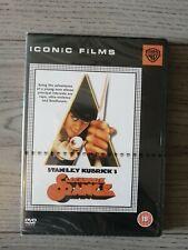 Brand New & Sealed Stanley Kubrick's A Clockwork Orange DVD 2005 Iconic Films